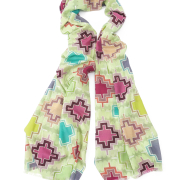 Kilim cross scarf